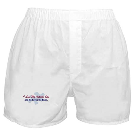 My Son Loves Me Back Boxer Shorts