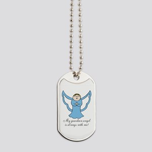 My Guardian Angel is Always with Me! Dog Tags