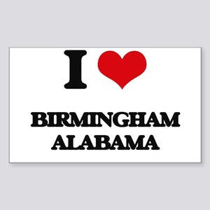 I love Birmingham Alabama Sticker