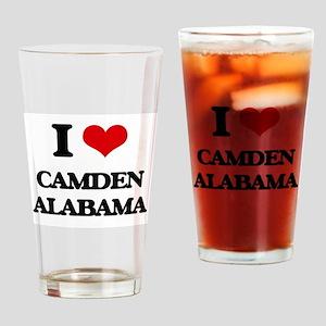 I love Camden Alabama Drinking Glass
