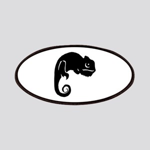 Chameleon Silhouette Patch