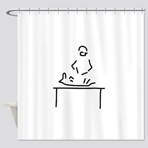 veterinarian veterinary medicine ve Shower Curtain