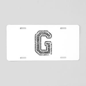 G-Col gray Aluminum License Plate