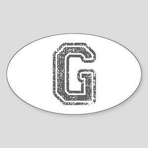 G-Col gray Sticker