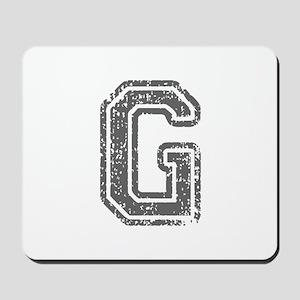 G-Col gray Mousepad