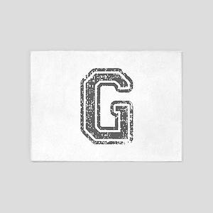 G-Col gray 5'x7'Area Rug