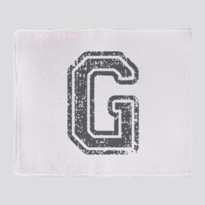 G-Col gray Throw Blanket
