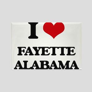 I love Fayette Alabama Magnets