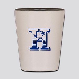 H-Max blue2 Shot Glass
