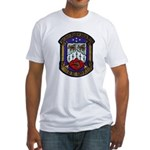 USS KIRK Fitted T-Shirt