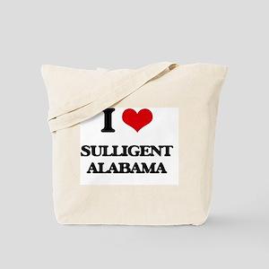 I love Sulligent Alabama Tote Bag