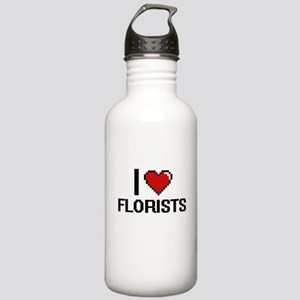 I love Florists Stainless Water Bottle 1.0L