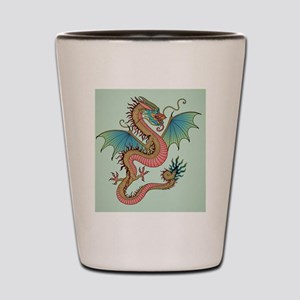 Chinese Dragon Shot Glass