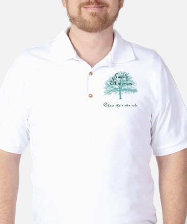 Family Historian Chase Tale Golf Shirt