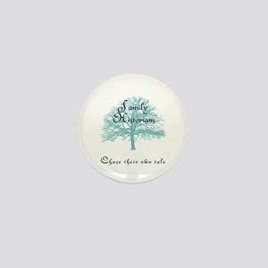 Family Historian Chase Tale Mini Button