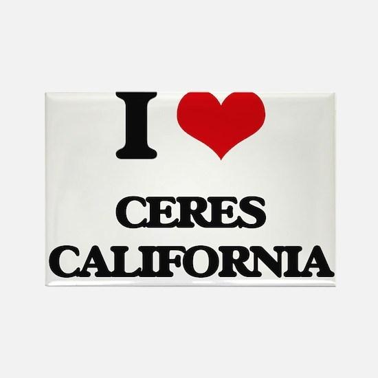 I love Ceres California Magnets
