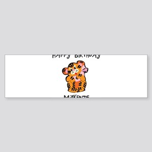 Happy Birthday Makenzie (tige Bumper Sticker
