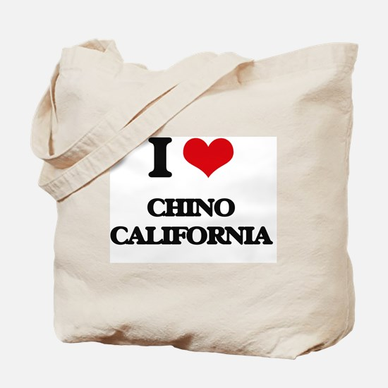 I love Chino California Tote Bag
