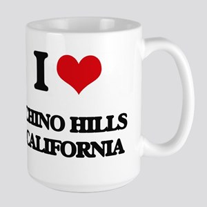 I love Chino Hills California Mugs