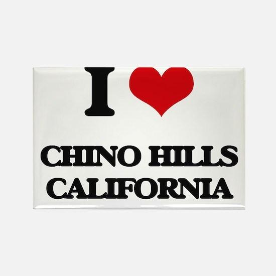 I love Chino Hills California Magnets