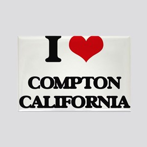 I love Compton California Magnets