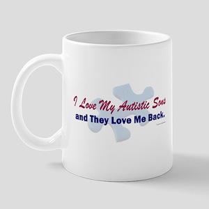 My Sons Love Me Back Mug
