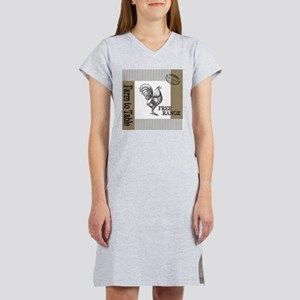 Modern Vintage Farmers Market Women's Nightshirt