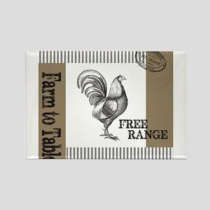 Modern Vintage Farmers Market Magnets