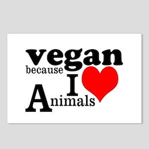 Vegan Postcards (Package of 8)