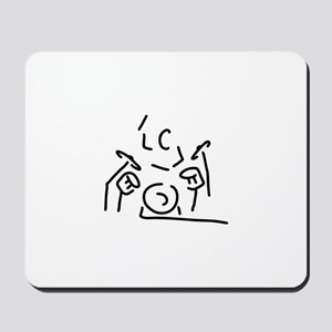 drummer drums Mousepad