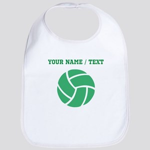 Green Volleyball (Custom) Bib