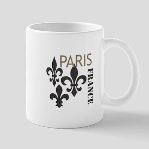 Modern Trends fleur de lis Mugs