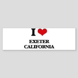 I love Exeter California Bumper Sticker