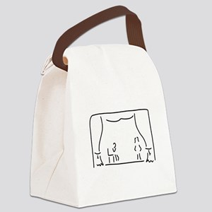 actor theatre stage Canvas Lunch Bag