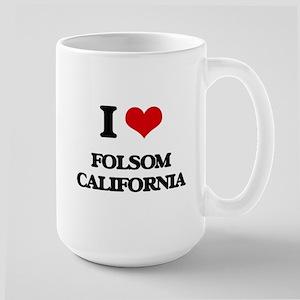 I love Folsom California Mugs