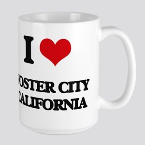I love Foster City California Mugs