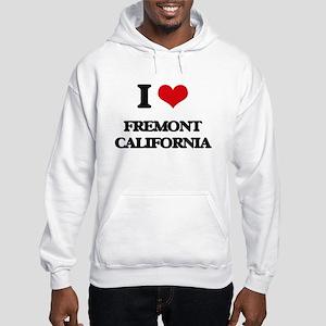 I love Fremont California Hooded Sweatshirt