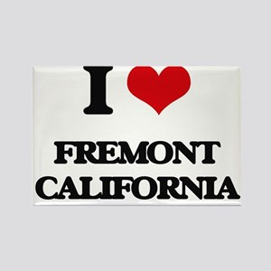 I love Fremont California Magnets
