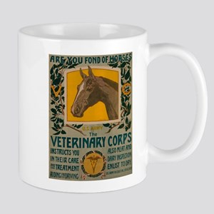 VETERINARY CORPS coffee cup