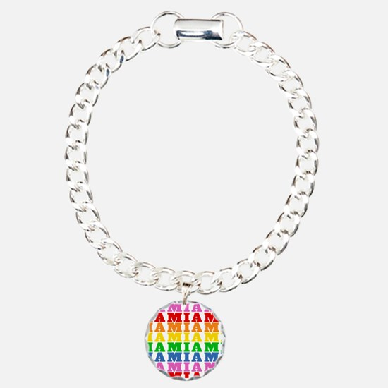 Rainbow Name Pattern Bracelet