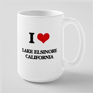 I love Lake Elsinore California Mugs