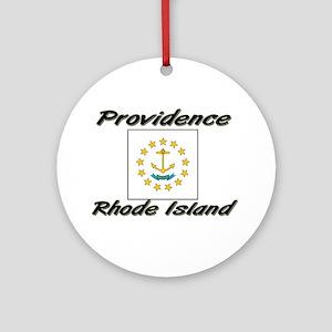 Providence Rhode Island Ornament (Round)