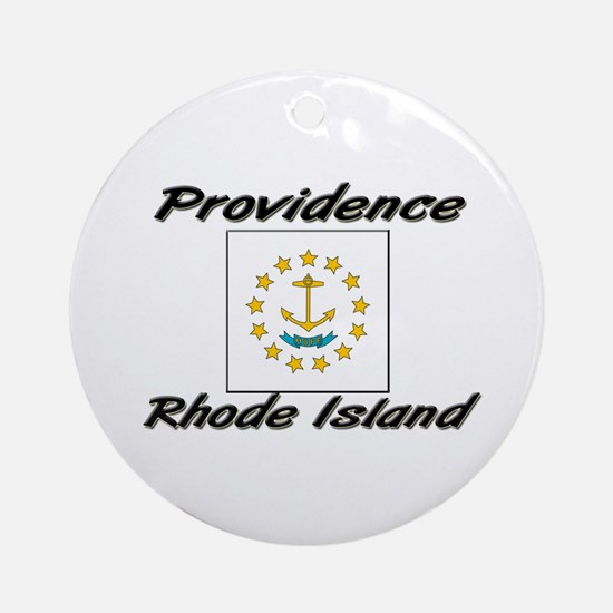 Providence Rhode Island Ornament (Round)