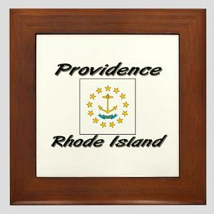 Providence Rhode Island Framed Tile