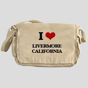 I love Livermore California Messenger Bag