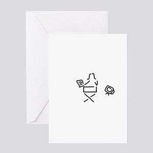 woman director filmmaker film trick Greeting Cards