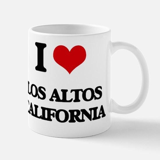 I love Los Altos California Mug