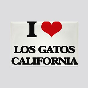 I love Los Gatos California Magnets