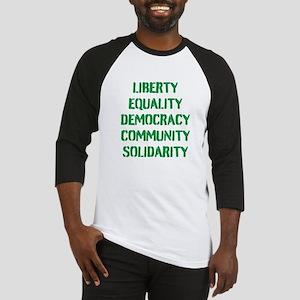 liberty equality (green) Baseball Jersey