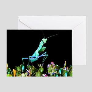 Praying Mantis II Greeting Card